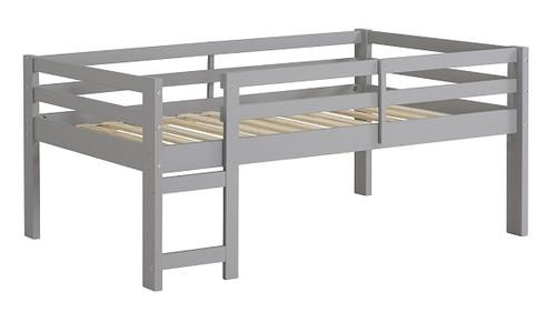 Noah Grey Twin Size Low Toddler Loft Bed
