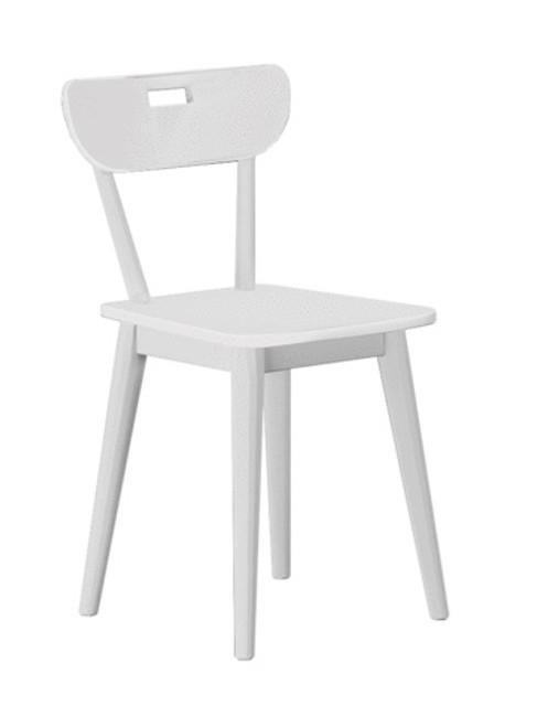 Chelsea White Desk Chair