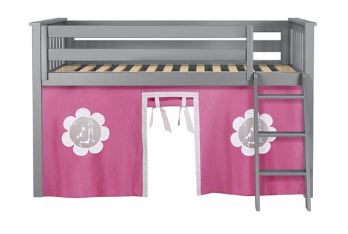 Turin Gray Loft Beds for Kids