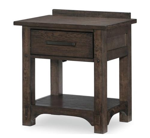 Saddlebrooke One Drawer Nightstand