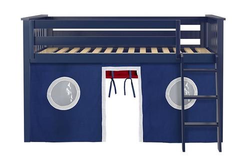 Buxton Blue Loft Beds for Kids