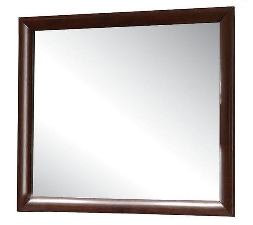 Manville Espresso Rectangle Mirror