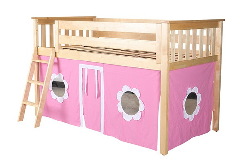 Finlay Natural Loft Beds for Kids