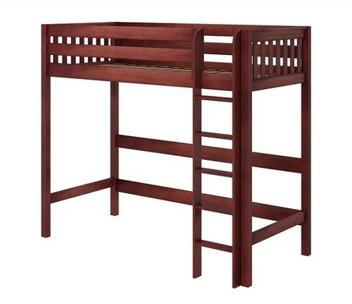 Cranston Ultra High Chestnut Twin XL Loft Bed