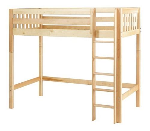 Dawson Natural High Twin Loft Bed