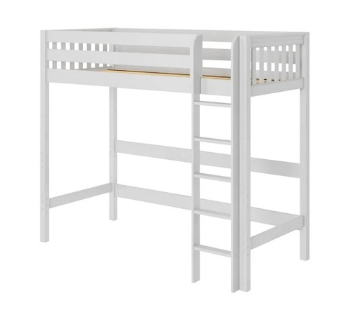 Monahan Ultra High White Twin XL Loft Bed