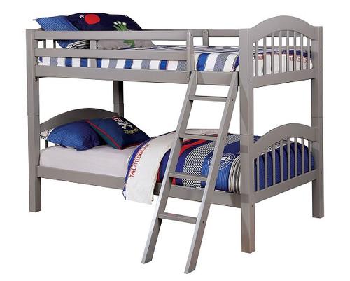 Effran Gray Low Bunk Beds