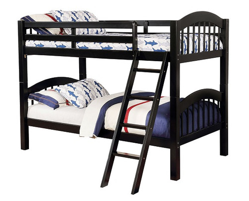 Zander Black Low Bunk Beds