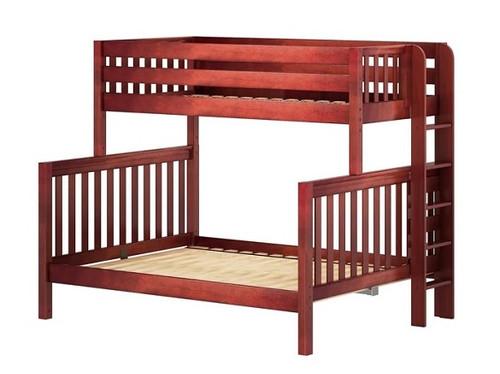 Atlas Chestnut Twin over Queen Bunk Bed