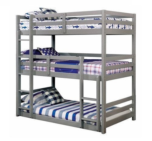 Harlow Gray 3 Bed Bunk Bed