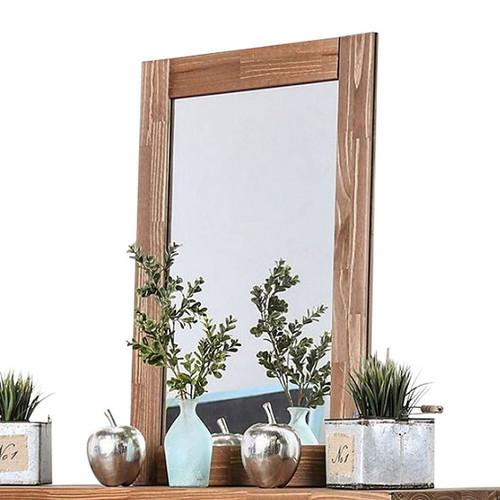 Woodlands Brown Cherry Tall Mirror
