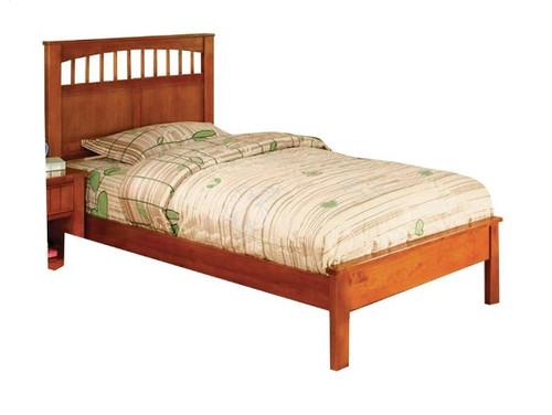 Grier Oak Platform Bed twin size