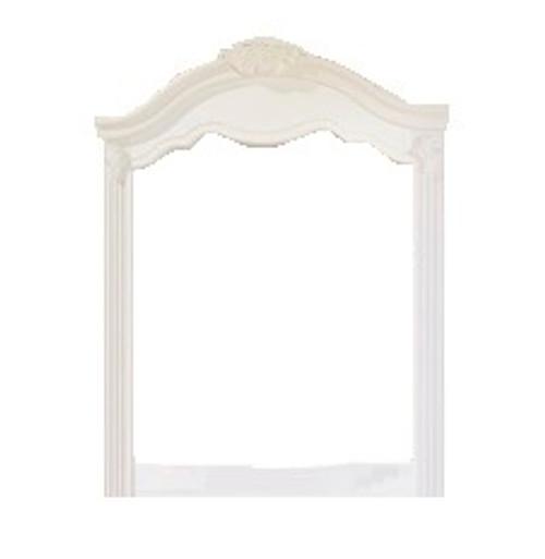 Desirae Vertical Mirror White