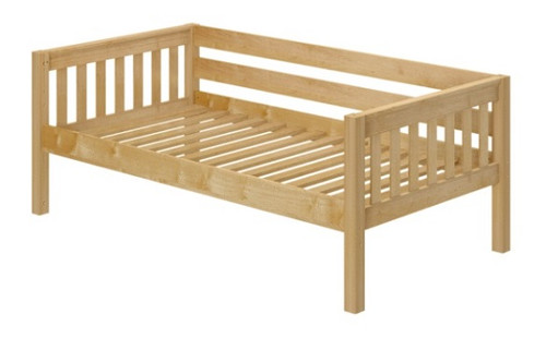 Casey's Natural Twin Size Kids Daybed-Slatted Ends