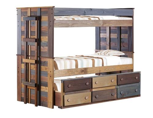 Morgan Creek Multicolor Bunk Beds with Trundle