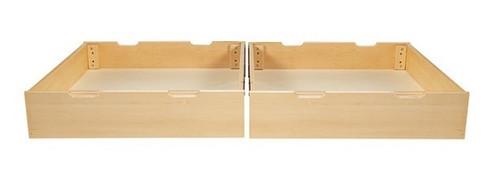 Lingo Natural Set of 2 Under Bed Drawers