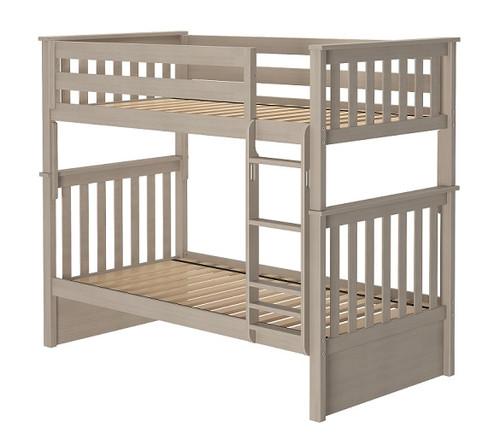 Inez Sand Twin Bunk Beds