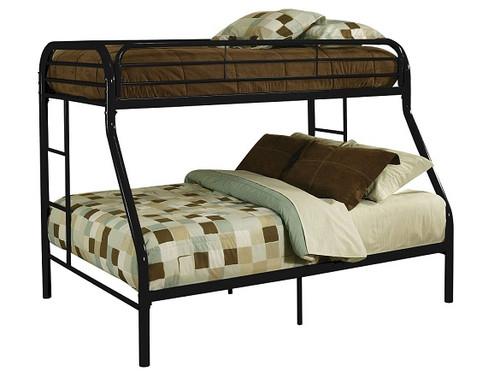 Kenosha Black Twin over Queen Bunk Bed