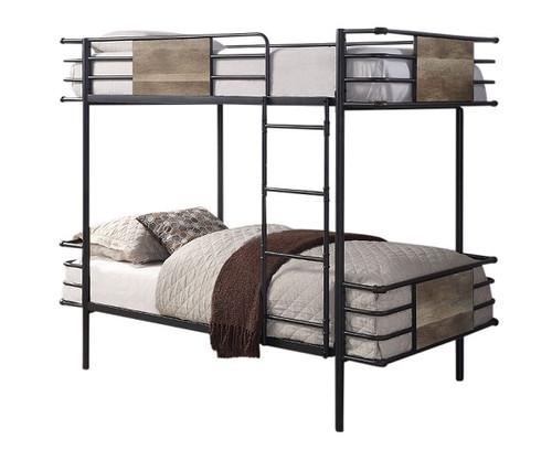Hurst Metal Twin Bunk Beds