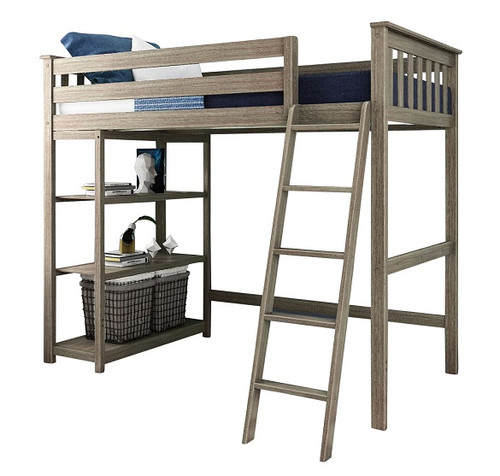 Chilton Brushed Clay Twin Loft Bed