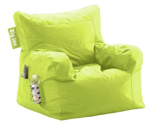 Big Joe Dorm Bean Bag Chair Lime Green