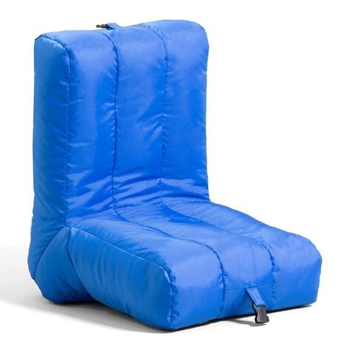 Big Joe Grab & Go Bean Bag Chairs Coastal Blue