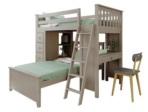 Kivik Sand L Shape Loft Bed