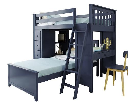 Baldwin Blue L Shape Loft Bed