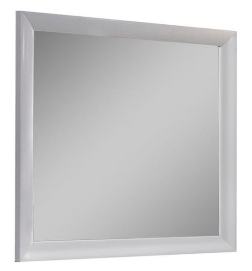 Manville White Rectangle Mirror