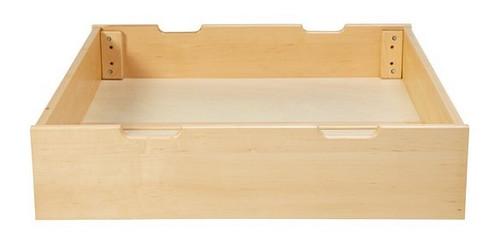 Lingo Natural Single Underbed Storage Drawer