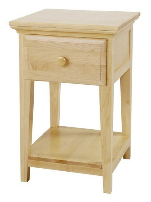 Lingo Natural One Drawer Nightstand