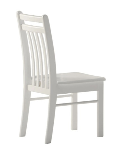 Hollywood White Student Desk Chair