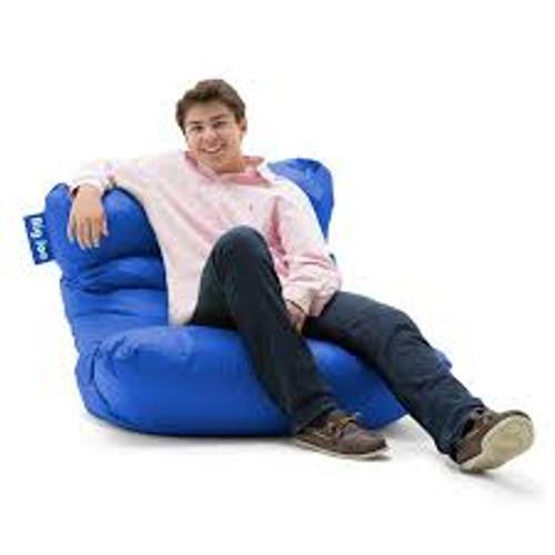 Sapphire Blue Bean Bag Gaming Chair