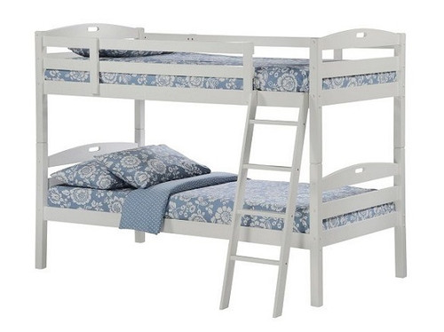 Sullivan Twin over Twin Bunk Beds for Kids White Finish