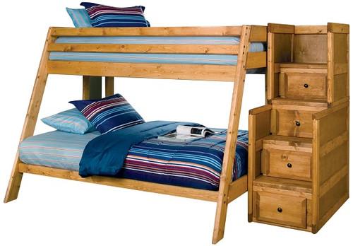 Black Mountain Stairway Bunk Bed