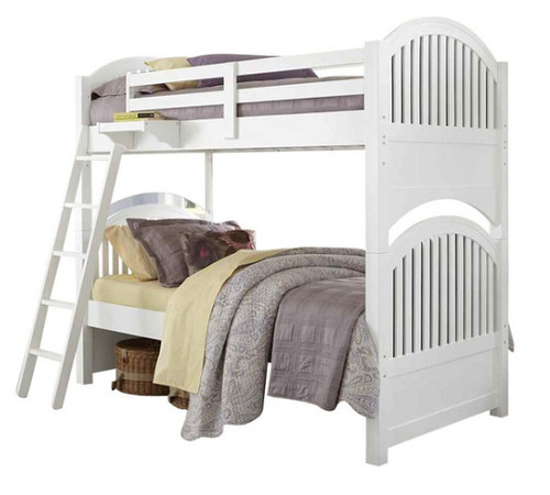Park Place White Twin over Twin Bunk Beds