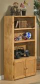 Harley Cinnamon Tall Bookcase Room