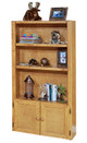 Harley Cinnamon Tall Bookcase