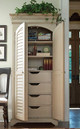 Brooke Antique White Tall Cabinet