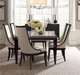 Blair Highlands Set of 2 Black Dining Chairs