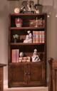 Prescott Cocoa Wooden Bookcase Room