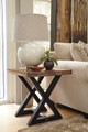Fable Hill Square End Table in room