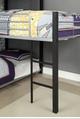 Zenith Metal Twin Corner Triple Bunk Bed Short Ladder Detail
