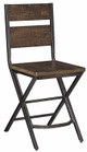 Breezy Pointe Set of 2 Counter Height Stools single stool