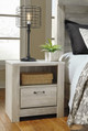 Florence Driftwood Bedroom Night Stand in room