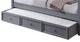 Edrea Grey Optional Storage Trundle