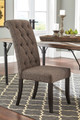 Meadow Park Set of 2 Dining Chairs Grey Room