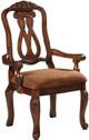 Raliegh Set of 2 Arm Chairs Cherry single chair