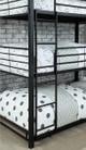 Hugo Metal Three Bed Bunk Bed Ladder Detail
