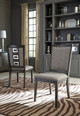 Newmarket Set of 2 Dining Chairs Smoky Grey